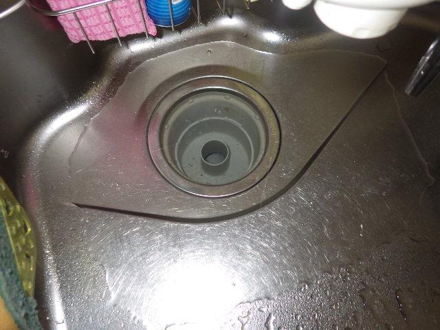 排水管詰まり 作業前